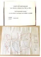 Carte De Dépannage Forces Belges En Allemagne - Documents