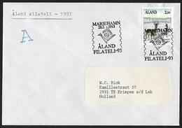 1991 - ALAND - Cover + Michel 46 [Capreolus Capreolus] + MARIEHAMN - Aland