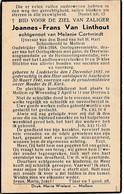 Mollem, Oorlogsverminkte, Liedekerke, Asse, 1941, Joannes Van Linthout, Cortvrindt - Devotion Images