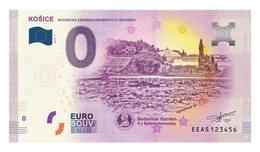 0 Euro-Schein Souvenir Slowakei 2018 - Košice Botanischer Garten - EURO