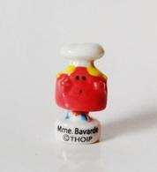 Fève Madame Bavarde Monsieur Madame THOIP - NAT/ - Santons/Fèves