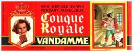P V /Buvard N°10 Pain D'épices Vandamme (Format 08 X 20) (N= 14) - Gingerbread