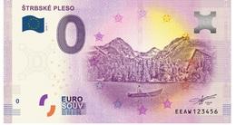 0 Euro-Schein Souvenir Slowakei 2018 - STRBSKE PLESO - Hohe Tatra - EURO