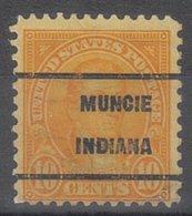 USA Precancel Vorausentwertung Preo, Locals Indiana, Muncie 642-209 - Vorausentwertungen