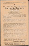 Dworp, 1948, Sint-Genesius-rode, 1946, Marguerite Everaerts, Paesmans - Devotion Images