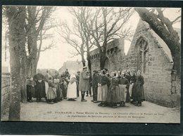 CPA - PENMARCH - Vieux Manoir De Pennety -  Un Jour De Distribution De Secours Pendant La Misère En Bretagne - Penmarch