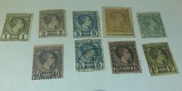 Lot Timbres 1885 - Monaco