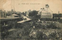 50 Manche :  Port - Bail  La Rue De La Gare    Réf 6456 - Frankrijk
