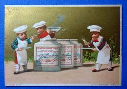 CHROMO LIEBIG DORÉE...S 44......LITH. VALLET MINOT....ENFANTS..... CUISINIERS ...POTAGE - Liebig