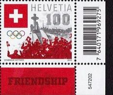 ** 2018 - SVIZZERA / SWITZERLAND - GIOCHI OLIMPICI INVERNALI DI PYEONG CHANG / WINTER OLYMPIC GAMES IN PYEONG CHANG. MNH - Nuovi