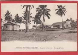 CPA: Fidji - Missions Maristes D'Océanie - Chapelle Des Lépreux à Makogai - Fiji