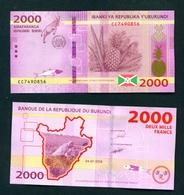 BURUNDI - 2018 2000 Francs UNC - Burundi