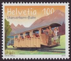 ** 2018 - SVIZZERA / SWITZERLAND - FERROVIA MONTANA DI STANSERHORN / MOUNTAIN RAILWAY OF STANSERHORN. MNH - Nuovi