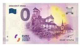 0 Euro-Schein Souvenir Slowakei 2019 - ORAVA BURG / ARWABURG - EURO