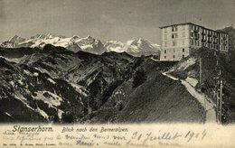 STANSERHORN BLICK NACH DEN BERNERALPEN  Suiza Switzerland Suisse Schweiz - NW Nidwald