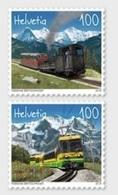 ** 2018 - SVIZZERA / SWITZERLAND - SCHYNIGE PLATTE & WENGERNALP FERROVIE MONTANE  /  MOUNTAIN RAILWAY. MNH - Nuovi