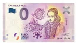 0 Euro-Schein Souvenir Slowakei 2019 - Cachtice Burg - EURO
