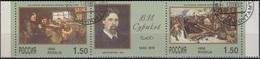 Russia 1998 Painting Surikov MiNr.639-40 - Used Stamps
