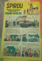 Spirou N° 940 Du 19 Avril 1956 : Spirou, Loup Blanc, La Patrouille Des Castors, Saab 93, Buck Danny, Lucky Luke... - Spirou Magazine