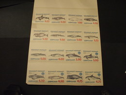 GROENLANDIA - 1996/8 BALENE 4+6+6 VALORI - NUOVI(++) - Groenlandia