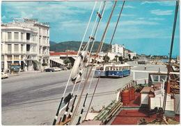 Volos: 3x AUTOBUS/COACH, DKW 3=6 - Central Quay - (Greece) - Toerisme