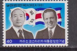 Korea South - Canada President Visit To Korea Set MNH / Flags Leaders - Francobolli