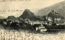 SION VUE GENERALE  Suiza Switzerland Suisse Schweiz - VS Valais