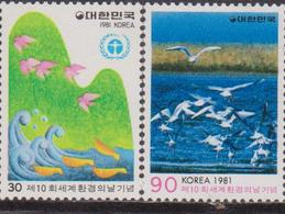 Korea South - Birds Set MNH - Corea Del Sud