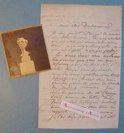 L.A.S 1847 Jean-Pierre DANTAN Le Jeune Sculpteur Lettre Du Sommerard Huart Metz - Lettre Autographe - Paris Baden Baden - Autographes