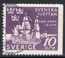 Schweden, Mi306Dr, 300. Jahrestag Des Seesieges Bei Der Insel Fehmarn über Die Dänische Flotte - Schwedische Flotte - Usati