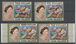 COOK YVERT  414/17  MNH  ** - Cook Islands