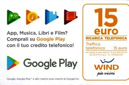 *ITALIA - WIND - NOVITA'* - Ricarica Usata (sc. 30/06/2022) - Italy