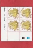 Coin Daté - France  ** (MNH) Coeur Boucheron - 2019 - Ecken (Datum)