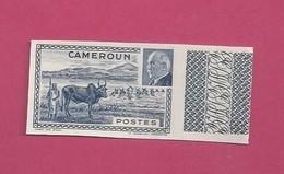 YT N° 201b - Pétain - Essai Non Dentelé - Cameroun (1915-1959)