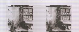 Plaque De Verre Stéréo STRASBOURG La Cathédrale Des Années 1920 Des Etablissements STEREAL N°23344 - Glass Slides