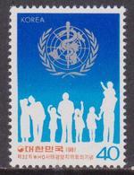 Korea South - Health Set MNH - Medicina