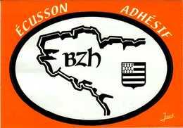 ECUSSON ADHESIF...BZH ...CPM - Maps