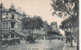 ***   BRESIL ***  RIO DE JANEIRO  Avenida Rio Branco  - Stamped TTB 1913 - Rio De Janeiro