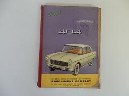 Livre 143 P. Sur La Technique Et La Pratique De La 404 Peugeot. Signé Craipeau. - Auto