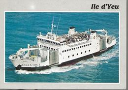 Ile -- D'Yeu-- Bateau Insulaoya - Ile D'Yeu