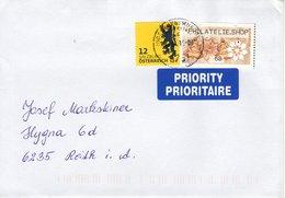 Brief Von 8751 Judenburg Im Murtal Mit 80 Cent Mischfrankatur Philatelieshop 2019 - 1945-.... 2ème République