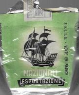 Ancien Paquet Vide En Papier  De 20 Cigarettes Nazionali - Empty Cigarettes Boxes