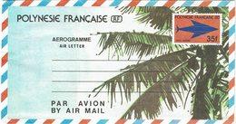 DIV1 - POLYNESIE FRANCAISE AEROGRAMME 35f NEUF - Aérogrammes