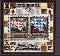 Korea South - Scacchi Chess Set MNH - Scacchi