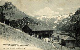 ENGELBERG FLUHMALT MIT HAHNEN UND SPANNÖRTER Suiza Switzerland Suisse Schweiz - OW Obwald