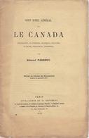 RARE. EO 1874 EDMOND FARRENC COUP D'OEIL GÉNÉRAL SUR LE CANADA Guillaumin - Books, Magazines, Comics