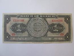 Mexico 1 Peso 1967 Banknote - México