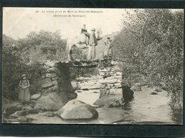CPA - Karten Bost - Environs De Quimper - Le Vieux Pont De Meil Or Poul Au Stangala, Animé  (dos Non Divisé) - Non Classés