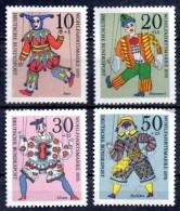 ALLEMAGNE  N°  501/04  * *  Marionnette Clown Arlequin - Marionnettes