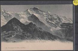 Ansichtskarte   . Schweiz      Interlaken       Jungfrau   Gebrauchsspuren - Unclassified
